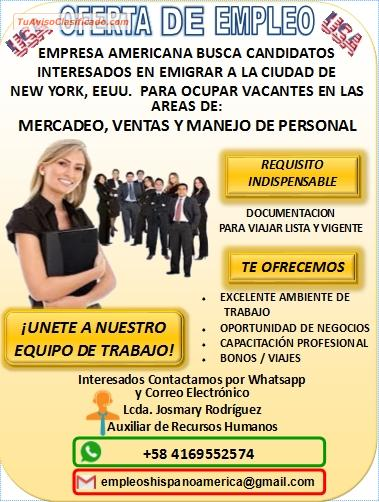 Oferta de empleo en new york prestamos faciles en monterrey - Oferta de empleo en londres ...