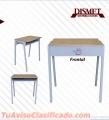 Fabricacion de mobiliario escolar, oficinas, archivadores, estantería.