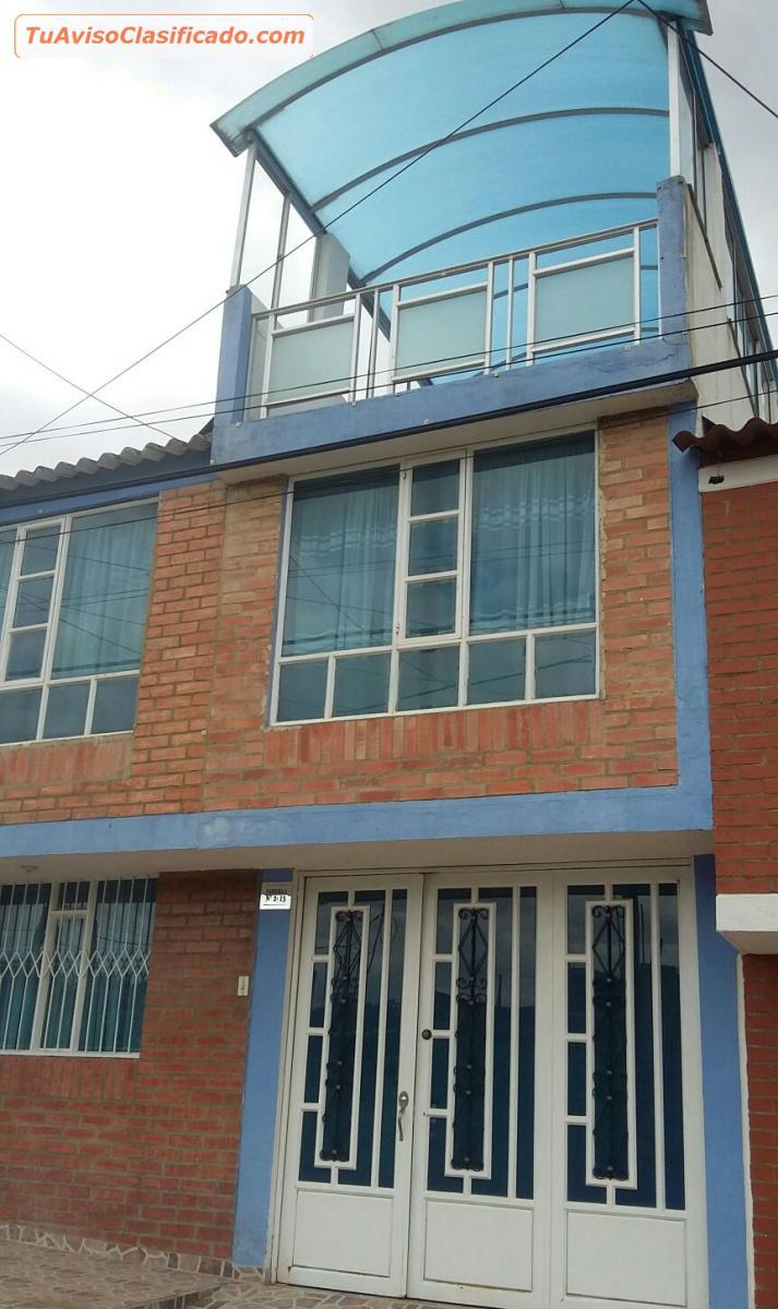 Vendo Espectacular Casa De Dos Pisos Y Terraza Muy Bien