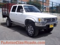 OJO, APROVECHE ESPECTACULAR CAMIONETA COMERCIAL TOYOTA HILUX 4X4 TURBO-DIESEL 3000: