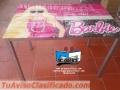 Escritorio en vidrio diseño Barbie