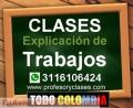 Profesor particular de finanzas Contabilidad Excel Estadistica en Medellin clases trabajos