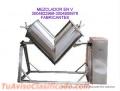 MEZCLADOR PARA TODO TIPO DE PRODUCTOS ALIMENTICIOS, ENTRE OTROS