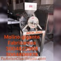 MOLINO PARA SACAR LICOR DE CACAO, EN ACERO INOXIDABLE, ENTRE OTROS