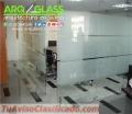 Divisiones de oficina en vidrio templado