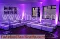 Mobiliario Lounge para eventos en bogotá