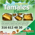 Exquisitos tamales veganos en AtmadharaVeganFood