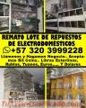 Remato gran lote de repuestos de electrodomésticos