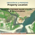 Beach House, Property location, in Las Lajas Beach, Republic of Panama.