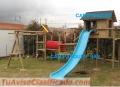 Fibras -parques infantiles en madera
