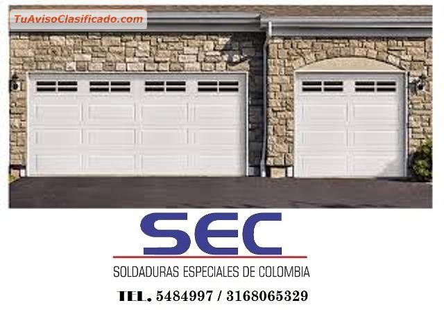 Puertas metalicas para garajes servicios y comercios for Puertas para garajes