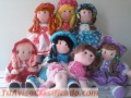 Venta de muñecas de trapo