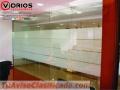 Divisiones de vidrio para oficina