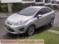 Ford Fiesta 2012 1.6 Power, Sedán / Manual / Color: Gris Plateado / 28.760kms